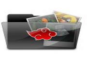 黑色文件夹桌面图标
