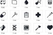 医院医疗图标素材 免费版
