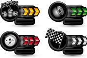 矢量赛车主题标签
