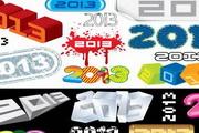 2013创意字体设...