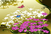 花卉花纹素材10