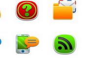 手机软件功能图标素材