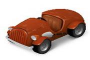 卡通古董汽车图...