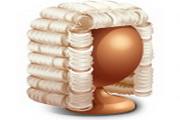 法庭审判系列图标下载