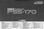 雅马哈PSS-170型电子琴说明书