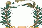 矢量图欧式植物圆形边框