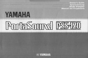 雅马哈PSS-120型电子琴说明书