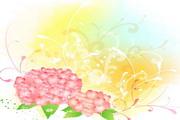 韩国卡通花纹矢量图5