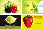 水果植物素材矢量图