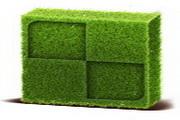 绿色设计桌面图标下载