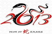 2013蛇年艺术字...