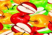 水果果蔬背景矢量图