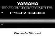 雅马哈PSR-600型电子琴说明书