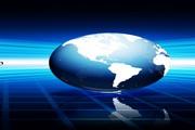 地球商务PPT模板