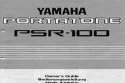 雅马哈PSR-100型电子琴说明书