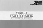 雅马哈PSR-22型电子琴说明书