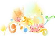 精美花卉图案素材2
