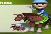 骑马运动PPT模板