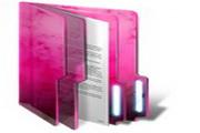 粉色文件夹桌面图标