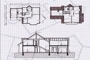 矢量房屋平面图纸 1.0