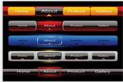 矢量网页控件设计