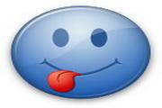 蓝色表情桌面图标下载