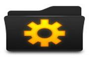 黑色文件夹桌面图标下载