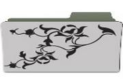 花纹文件夹桌面图标下载