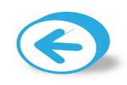 蓝色箭头桌面图...