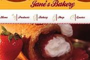 面包美食网站菜单flash片头素材