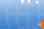 地图背景PPT模板