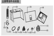 海尔顶吸式抽油烟机CXW-199-DS63型说明书