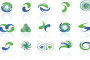 矢量抽象概念标志设计