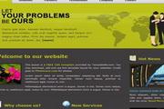 商务商业公司div css网页模板