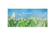 彩色柔美花卉背景素材2