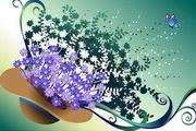 花卉花纹素材15