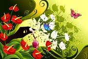花卉花纹素材16