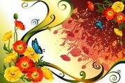 花卉花纹素材23