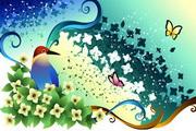 花卉花纹素材24