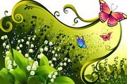花卉花纹素材25