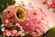 花卉花纹素材30