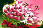 花卉花纹素材31