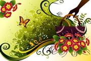 花卉花纹素材34