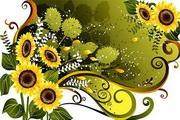 花卉花纹素材36