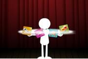 智能手机广告flash动画
