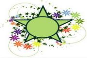 矢量绿色时尚花纹素材23