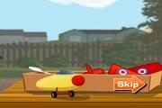 飞翔的玩具飞机...