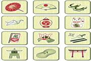 矢量中国传统符号图标