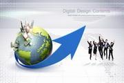 商务创意海报PSD素材