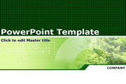 绿色自然PPT模板
